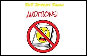 SHS Auditions