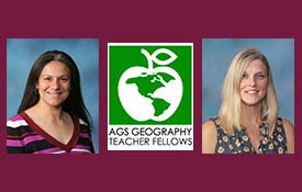 TWO DISTRICT 211 TEACHERS NAMED AGS GEOGRAPHY TEACHER FELLOWS