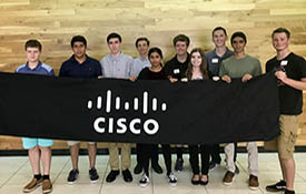 CISCO SYSTEMS ADDS STUDENT INTERNS FOLLOWING CAREER EXPO