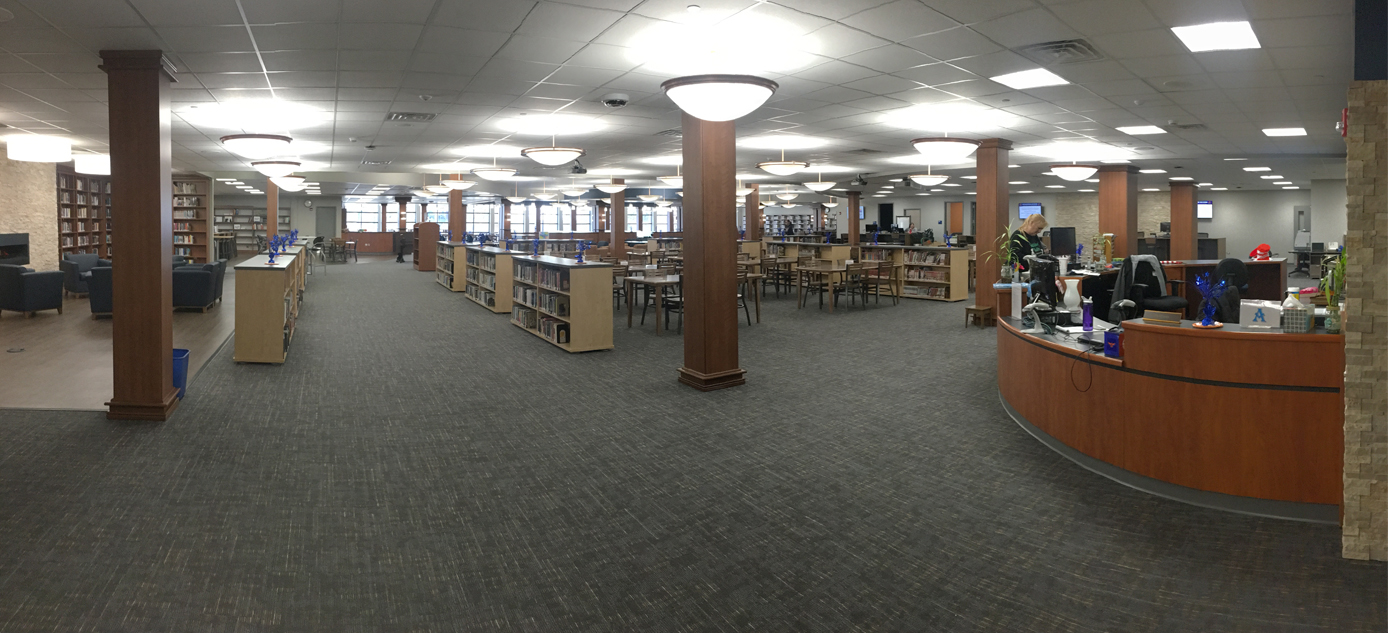 Hoffman Estates High School Media Center