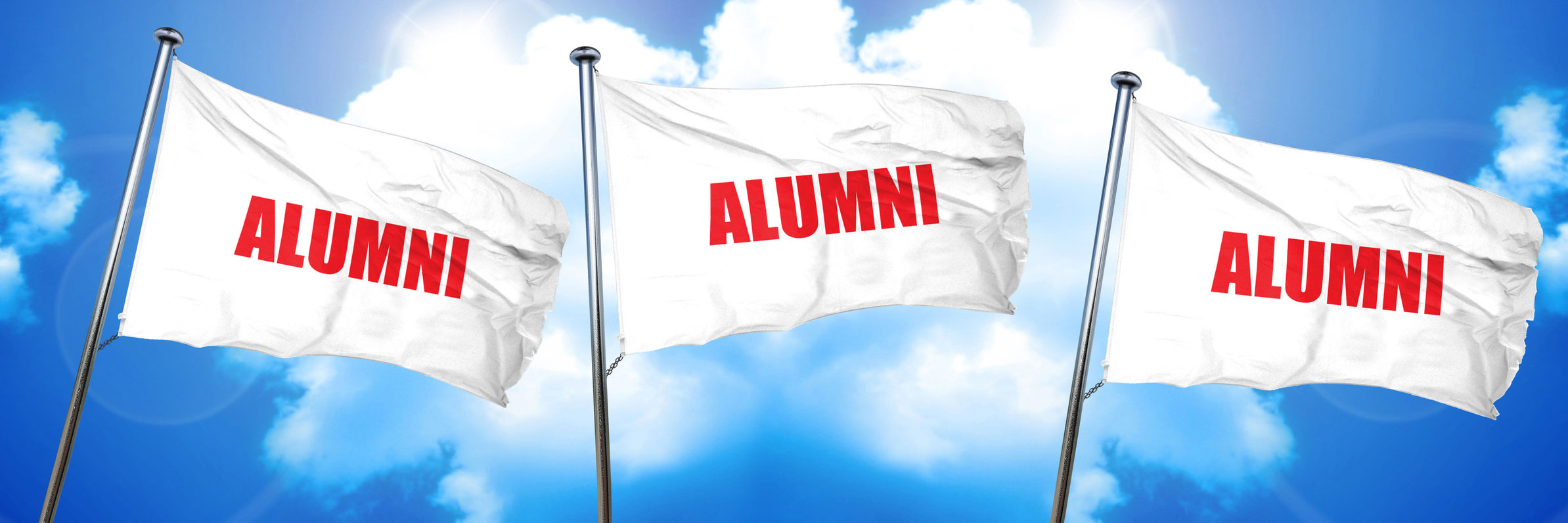 Alumni Flags