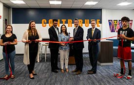 HOFFMAN ESTATES HS OPENS NEW AP SUPPORT CENTER
