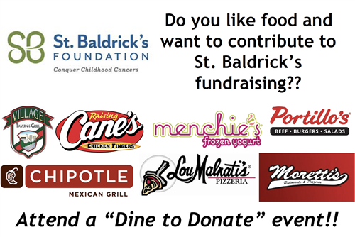 Dine 2 Donate Poster